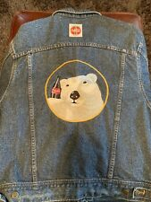 Coca Cola Lee Denim Jacket Size M Vintage 90's