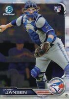2019 BOWMAN CHROME RC DANNY JANSEN TORONTO BLUE JAYS ROOKIE - C3392