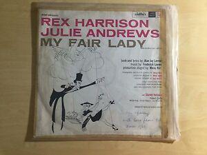 Vinyl LP - My Fair Lady Soundtrack (1956) with Julie Andrews