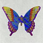 """12 packages of Prismatic Butterfly Stickers, """"Great 7"""" Sticker Designs, PPZ3810"""
