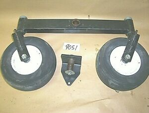 Woods 6180 6160 Dual / Tandem Rear AXLE ASSEMBLY Wide Rear Axle Assembly