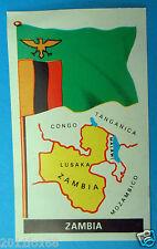 figurines figuren stickers picture cards figurine bandiere del mondo 82 zambia