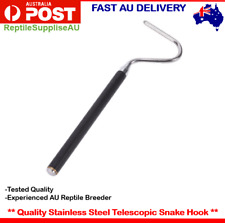 Adjustable Telescopic Stainless Steel Snake Capture Hook Quality Snake Hook Pet
