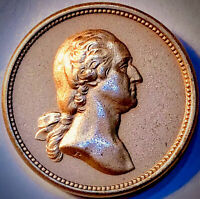 1868 Washington/Lincoln Bronze Medalette~GEM Uncirculated Condition~RARE~NICE