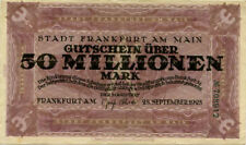 "Germany 50.000.000 Mark 1923 Frankfurt â""–708912"