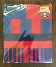 LIONEL MESSI OFFICIAL FRONT SIGNED FC BARCELONA HOME SHIRT: NIKE 20 YEAR ANNIVER