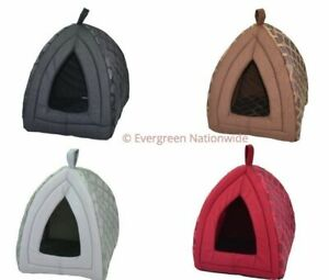 Igloo Pet House Dog Cat Kitten Puppy Kennel Hygienic Padded Cosy Insulated Warm