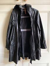 Stunning Vintage Black Cop Copine Rain Coat. Size 40 FR