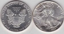 USA 1 OUNCE 1987 SILVER EAGLE IN NEAR MINT CONDITION
