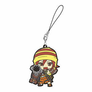 God Eater Mascot Swing PVC Keychain Strap Charm ~ Kota Fujiki @97073