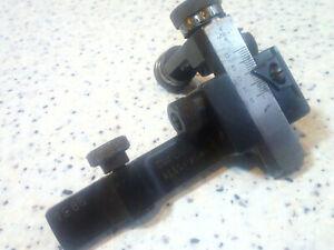 Steel Rear diopter sight Olympic target rifle Biathlon Sport aperture micrometer