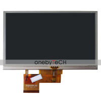 "5.0"" AT050TN34 V.1 TFT LCD DISPLAY TOUCH SCREEN For GPS Garmin Nuvi 1450 1450T"