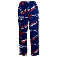 New England Patriots NFL Concepts Sports Wildcard Men's Pajama Pants-SIZE Small