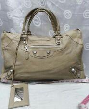 Authentic Balenciaga Biege Rose Gold Work Bag