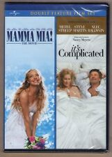 MAMMA MIA! + IT'S COMPLICATED new dvd MERYL STREEP DOUBLE FEATURE SET