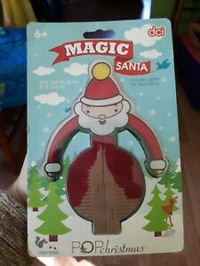 Pop Christmas Magic Santa Growing Crystal