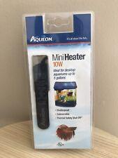 Aqueon Submersible Aquarium Mini Heater, 10W Brand New