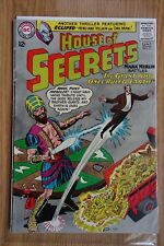 """DC House Of Secrets #71 """"The Giant Who Once Ruled Earth"""" Mark Merlin Eclipso"""