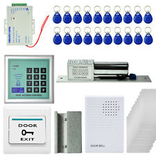 2200 LBs Kit Electric Door Lock Magnetic Control ID Card Reader Password System