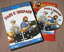 Pari e dispari - Bud Spencer; Terence hill (DVD; 1978) *EDICOLA / BUONO*.