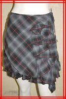 COP COPINE Taille S 36 Superbe jupe doublée grise modèle SUSAN  skirt falda rock