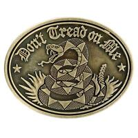 New CTM Don't Tread on Me Belt Buckle