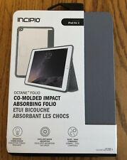 Incipio Octane Folio Hybrid Case for iPad Air 2 Frost Smoke Gray IPD-352-SMK NEW