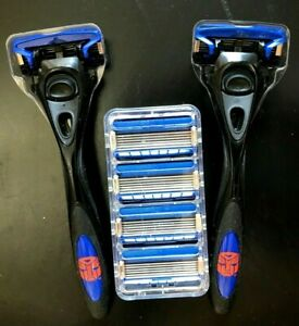 HYDRO 5 RAZOR with TRIMMER - 6 REFILLS AND 2 TRANSFORMER EDITION HANDLES