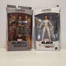Marvel Legends BLACK WIDOW (Grey & White Suit) Figure * Walmart Target Exclusive