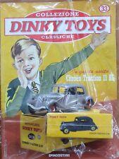 DINKY JUGUETES Citroën TRACTION MINIATURAS 1:43 COCHE MODELO DE AGOSTINI ATLAS
