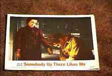 SOMEBODY UP THERE LIKES ME 1956 LOBBY CARD #6 PAUL NEWMAN