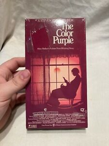 "Sealed VHS Tape "" THE COLOR PURPLE "" MIB Unopened WARNER"
