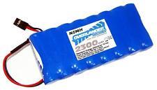 BATTERIA 9.6V 2300MAH NiMH Batterie Ricaricabili TX piatto