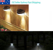 10x Outdoor LED Solar Power LED Wall Stairway Fence Garden Light **OZ Stock**