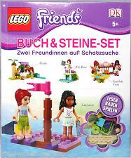 Lego Friends Buch & Steine-Set  5 Themen Mia + Chloe exklusiv in diesem Buch NEU
