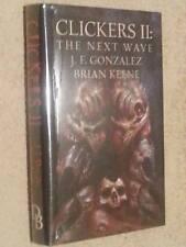 Brian Keene J F Gonzalez CLICKERS II The Next Wave USHC 1st Edn