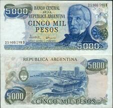 ARGENTINE billet neuf 5000 PESOS SAN MARIN Pick305b BAIE  DE MAR DEL PLATA 1977