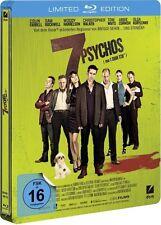 7 PSYCHOS (Colin Farrell, Sam Rockwell) Blu-ray Disc, Steelbook NEU+OVP