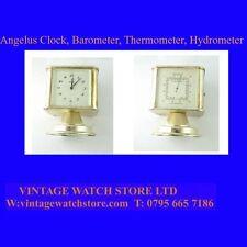 Superb Angelus  8-Day Travel Clock & Thermometer & Barometer, & Hygrometer,1940