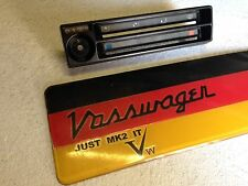 VW GOLF GTI MK2 JETTA.DASH HEATER BLOWER SWITCH PANEL 191919383.84-92 ALL MODELS