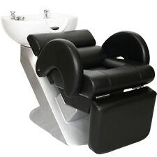 Salon Spa Equipment Hair Washing Shampoo Backwash Bowl Unit Sink Chair SU-32