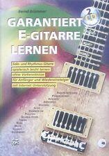 Garantiert E-Gitarre Lernen Bernd Brümmer Gitarrenschule ohne Noten mit 2 CDs