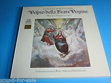 Harnoncourt / Monteverdi: Marien-Vesper - Vespro della Beata Vergine - 2 LP-Box