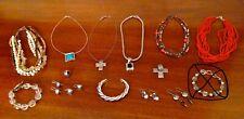 Sterling Silver Necklaces, Bracelets, Earrings Lot of Silpada Retired .925
