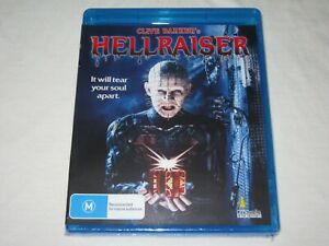 Hellraiser - Clive Barker - Brand New & Sealed - Region A, B, C - Blu Ray