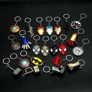 Unique Metal Marvel The Avengers Thor hammer Metal Keychain Key Chain Keyring