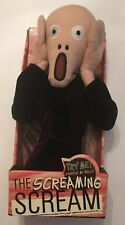 UNEMPLOYED PHILOSOPHER'S GUILD Screaming Scream E. MUNCH Plush! WORKS!