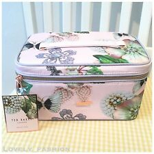 Ted Baker SS17 Jewellery NEW Wash Beauty Large Vanity Case Make Up Bag Floral