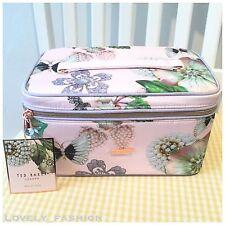 TED Baker SS17 Gioielleria NUOVO Lavare Bellezza GRANDE Beauty Case Trucchi a fiori