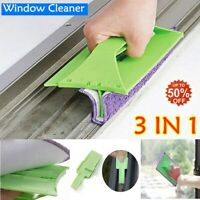 Magnetic Window Cleaner for Glazed Window Double Sided Brushes Glass Wiper Clean